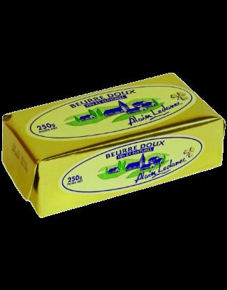 beurre doux alain ledanec 250g