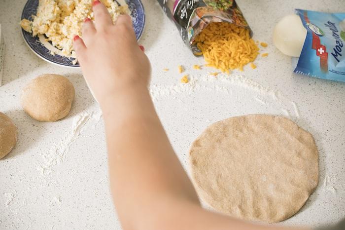 סמבוסק גבינות מקמח כוסמין