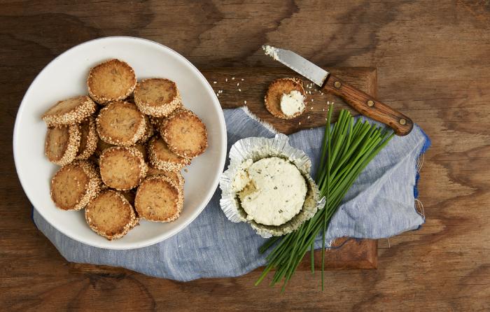 עוגיות גבינה כחולה